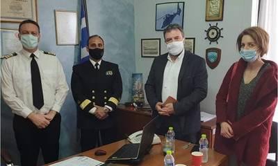 Αραχωβίτης καιΔουμάνη στο Λιμεναρχείο Νεάπολης για το ατύχημα σε διεθνή ύδατα ανοιχτά των Κυθήρων