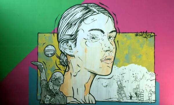 Προβολή της Καλαμάτας από την εκπομπή «Η Τέχνη του Δρόμου» της ΕΡΤ3