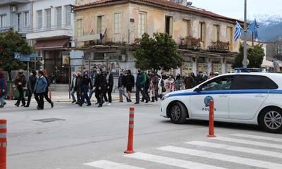 Κινητοποίηση κατά της Αστυνομικής βίας, από φορείς και πολίτες της Λακωνίας! (photos - video)