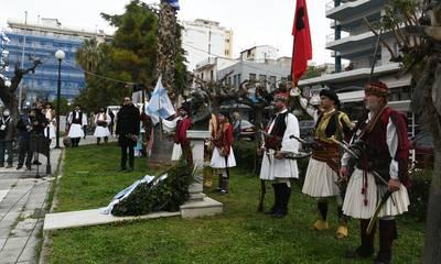 Πάτρα: Ξεκίνησαν οι εκδηλώσεις για την συμπλήρωση 200 χρόνων από την Επανάσταση του 1821 (photos)