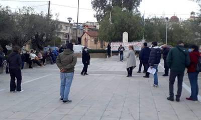 Με επιτυχία η κινητοποίηση στη Σκάλα κατά της αστυνομικής βίας