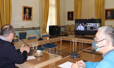 Τηλεδιάσκεψη Νίκα - Σκρέκα για το φυσικό αέριο στην Πελοπόννησο