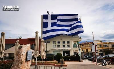 Ο σημαιοφόρος της Αργολίδας δεν ξέχασε τους ήρωες του ΕΣΥ! (photo/video)