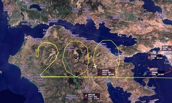 1821: Αεροπλάνο σχημάτισε τον αριθμό 200 πάνω από την Πελοπόννησο!