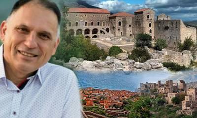 Νεοκλής Κρητικός: «Μπορεί η Λακωνία να γίνει ο κορυφαίος τουριστικός προορισμός»