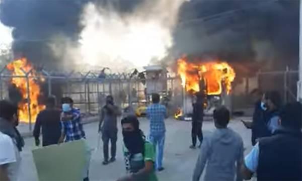 Κόρινθος: Επεισόδια σε δομή μεταναστών.  Αυτοκτόνησε πρόσφυγας (video)