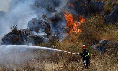 Συνελήφθη αγρότης για την φωτιά στα Χρύσαφα Σπάρτης