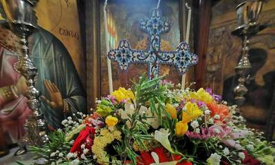 Εορτή της Σταυροπροσκυνήσεως στην Αγ. Ειρήνη Ν. Κίου Αργολίδας (video)