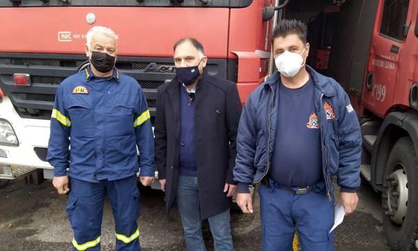 Νεοκλής Κρητικός: «Οι πυροσβέστες ασκούν λειτούργημα»