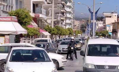 Άρχισαν τα μικροατυχήματα στους δρόμους της Σπάρτης (photos)