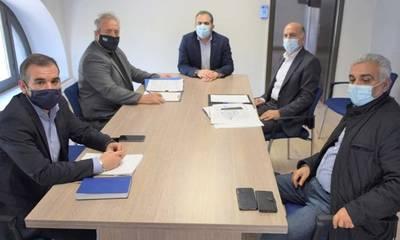 Συνάντηση για το Ενιαίο Συντονιστικό Κέντρο Δημοτικής και Ελληνικής Αστυνομίας Δήμου Καλαμάτας
