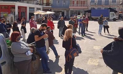 Στο πλευρό των παραγωγών – εμπόρων λαϊκών αγορών οι αγροτοκτηνοτρόφοι της Λακωνίας