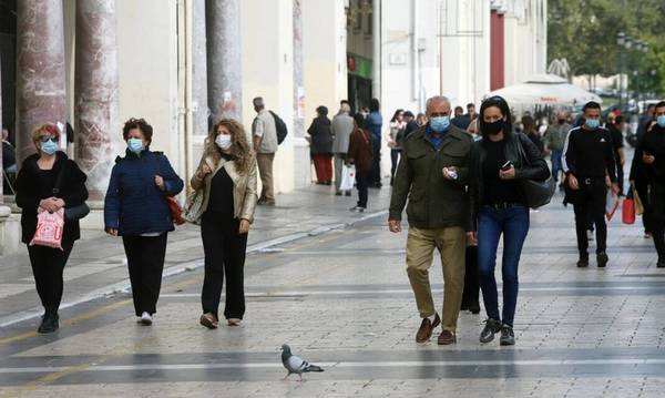 Δείτε τα σημερινά κρούσματα στην Πελοπόννησο