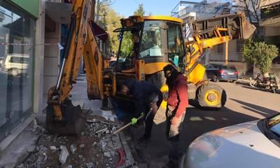 Συνεχίζονται έργα και παρεμβάσεις καθημερινότητας στην Καλαμάτα