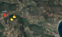 Πυρκαγιά στη Μάνη, καίει αγροτοδασικά κοντά στο Σκουτάρι (photos)
