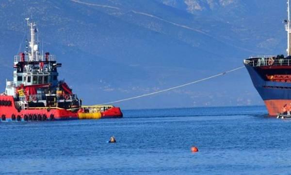 Ρυμουλκήθηκε στη Ελευσίνα από τη Νεάπολη το φορτηγό πλοίο «AFINA I»