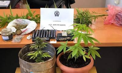 «Σκούπα» της ΕΛ.ΑΣ. για ναρκωτικά στην Κορινθία