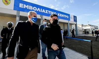 Χαρδαλιάς: «Τεράστια η προσπάθεια που γίνεται. Ξεκινάει νέο mega εμβολιαστικό κέντρο στην Πάτρα!»
