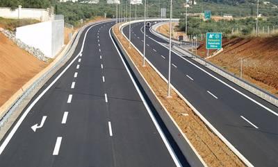 Μεγάλα αντιπλημμυρικά έργα στον αυτοκινητόδρομο Μορέα