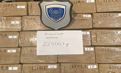 Πάτρα: Μετέφερε κοκαΐνη αξίας 956.000 ευρώ - Συνελήφθη οδηγός φορτηγού (photos - video)