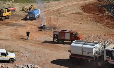 Καλαμάτα: Επιτυχημένη η άσκηση αντιμετώπισης πυρκαγιάς στη Μαραθόλακλα