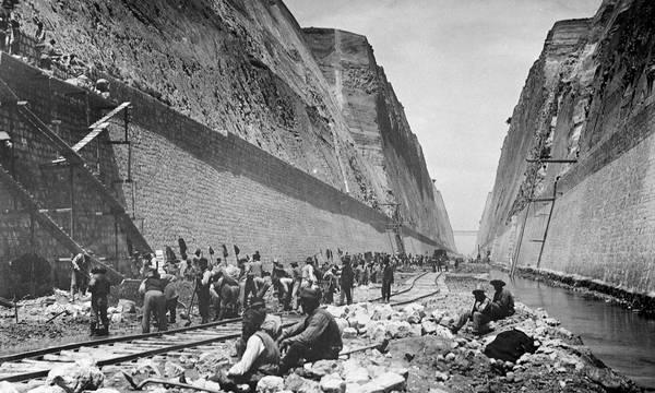 23 Απριλίου 1882: Ξεκινούν οι εργασίες διάνοιξης του Ισθμού της Κορίνθου