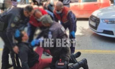 Απίστευτο! Έπαιξαν μπουνιές στο κέντρο της Πάτρας για μια προσπέραση (photos)