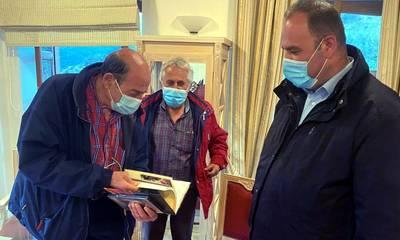 Τι ετοιμάζει ο Μανούσος Μανουσάκης στη Δημητσάνα;
