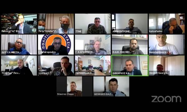 Καλαμάτα: Συνεδρίασε η Πολιτική Προστασία ενόψει της αντιπυρικής περιόδου (video)
