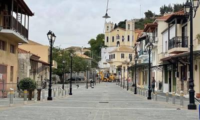Ολοκληρώθηκε η ανάπλαση της Άνω Πόλης στην Κυπαρισσία