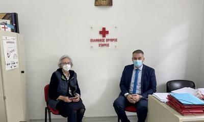 Χρονάς: «Η παρουσία του Ερυθρού Σταυρού στην πανδημία είναι συνεχής κι αθόρυβη»