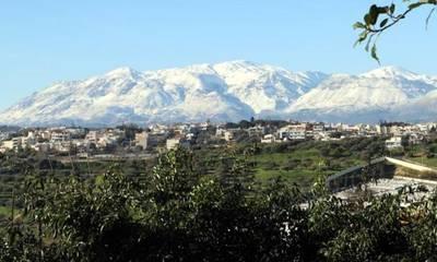 Αυτό ίσως δεν το έχετε ξαναδεί! Τα Λευκά Όρη της Κρήτης από την κορυφή του Ταΰγετου!