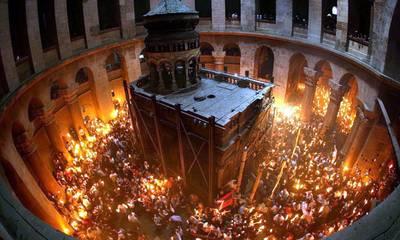 Έτσι έρχεται το Άγιο Φως στην Πελοπόννησο