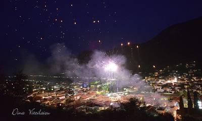 Ανάσταση με πολύχρωμα αερόστατα στο Λεωνίδιο (video)