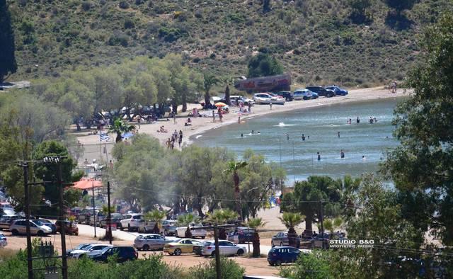 Παραλία Καραθώνας, Ναύπλιο