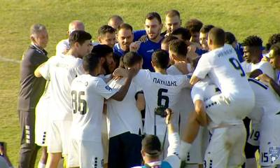 Football League: Νίκη στις καθυστερήσεις για την Καλαμάτα, 1-0 την Σαντορίνη- Δείτε το γκολ (video)