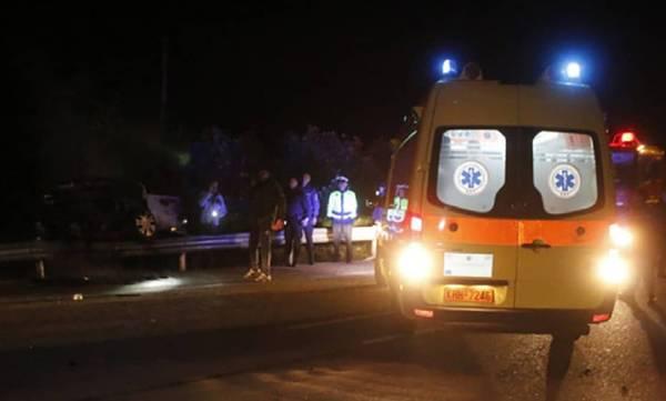 Κόρινθος: Σοβαρό τροχαίο με τέσσερις τραυματίες