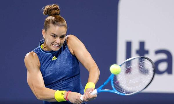 WTA: Σταθερή στο νούμερο 19 η Μαρία Σάκκαρη