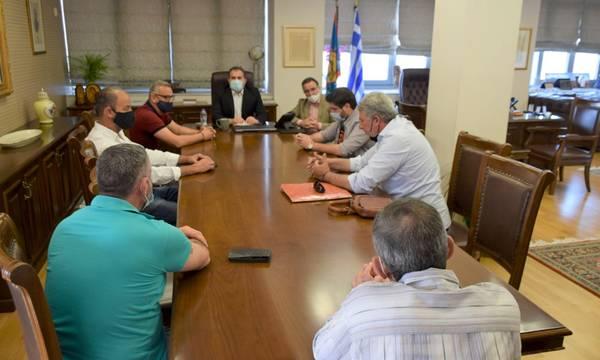 Συνάντηση για την βελτίωση οδοποιίας στην Βέργα