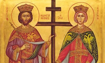 Εορτάζει το Μητροπολιτικό Παρεκκλήσι των Αγίων Κωνσταντίνου και Ελένης Γυθείου