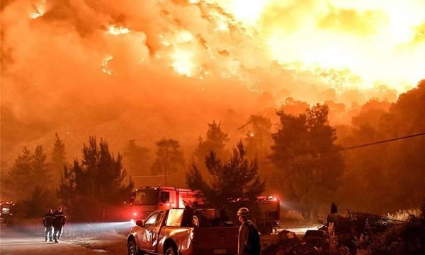 Φωτιά στο Σχίνο Κορινθίας: Από αμέλεια κάηκαν 20.000 στρέμματα - Ριπές ανέμων 8Β - Δύσκολη η νύχτα!