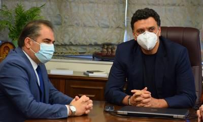 Καλαμάτα: Συνάντηση του Δημάρχου με τον Υπουργό Υγείας