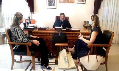 Στην Καλαμάτα η Πρέσβης του Παναμά στην Ελλάδα