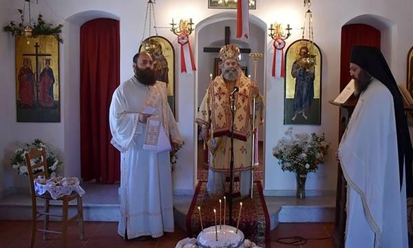 Εόρτασε το Μητροπολιτικό Παρεκκλήσι των Αγίων Κωνσταντίνου και Ελένης Γυθείου