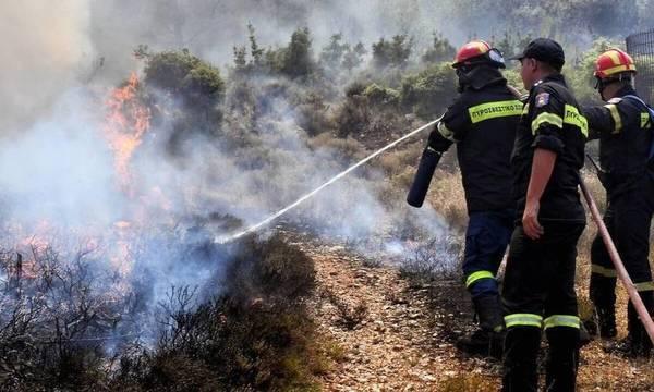 Σε εξέλιξη πυρκαγιά στη Βροχίτσα του Δήμου Πύργου
