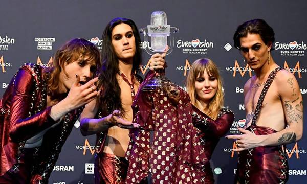 Eurovision 2021:  Νικήτρια χώρα η Ιταλία - Στη 10η θέση η Ελλάδα