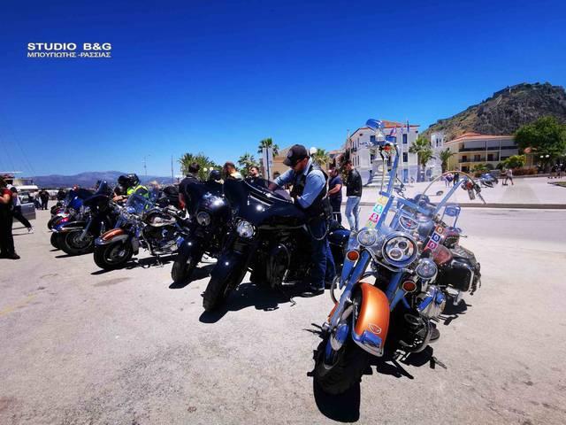 Πλημμύρησε... με Harley Davidson το Ναύπλιο