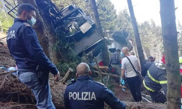 Τραγωδία στην Ιταλία: Δεκατρείς νεκροί από πτώση τελεφερίκ