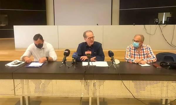 Συμβάσεις έργων, ύψους 2,2 εκ €, υπέγραψε στη Σπάρτη ο Παναγιώτης Νίκας