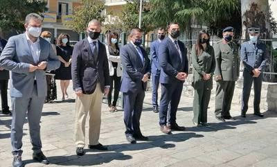 Σπάρτη: Ο Κώστας Αραβώσης εκπροσώπησε την κυβέρνηση στις εκδηλώσεις για τη Γενοκτονία των Ποντίων